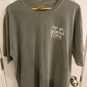 IM ON ISLAND TIME St. Simons Island T Shirt